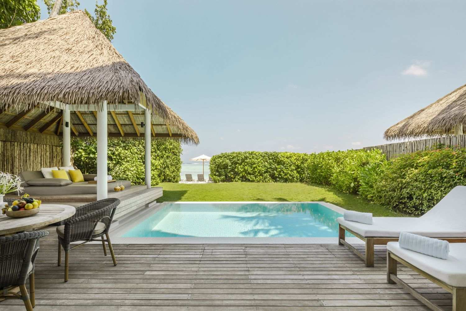 COMO Maalifushi 5*  - Two Bedroom Beach House