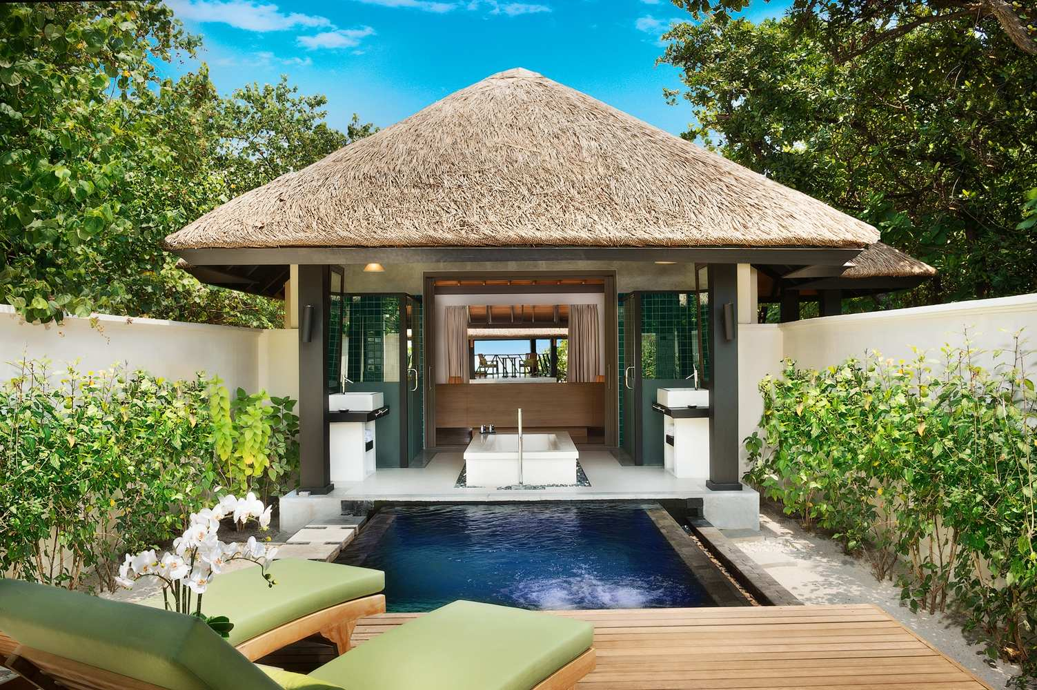 JA Manafaru, Beach Bungalow with private pool