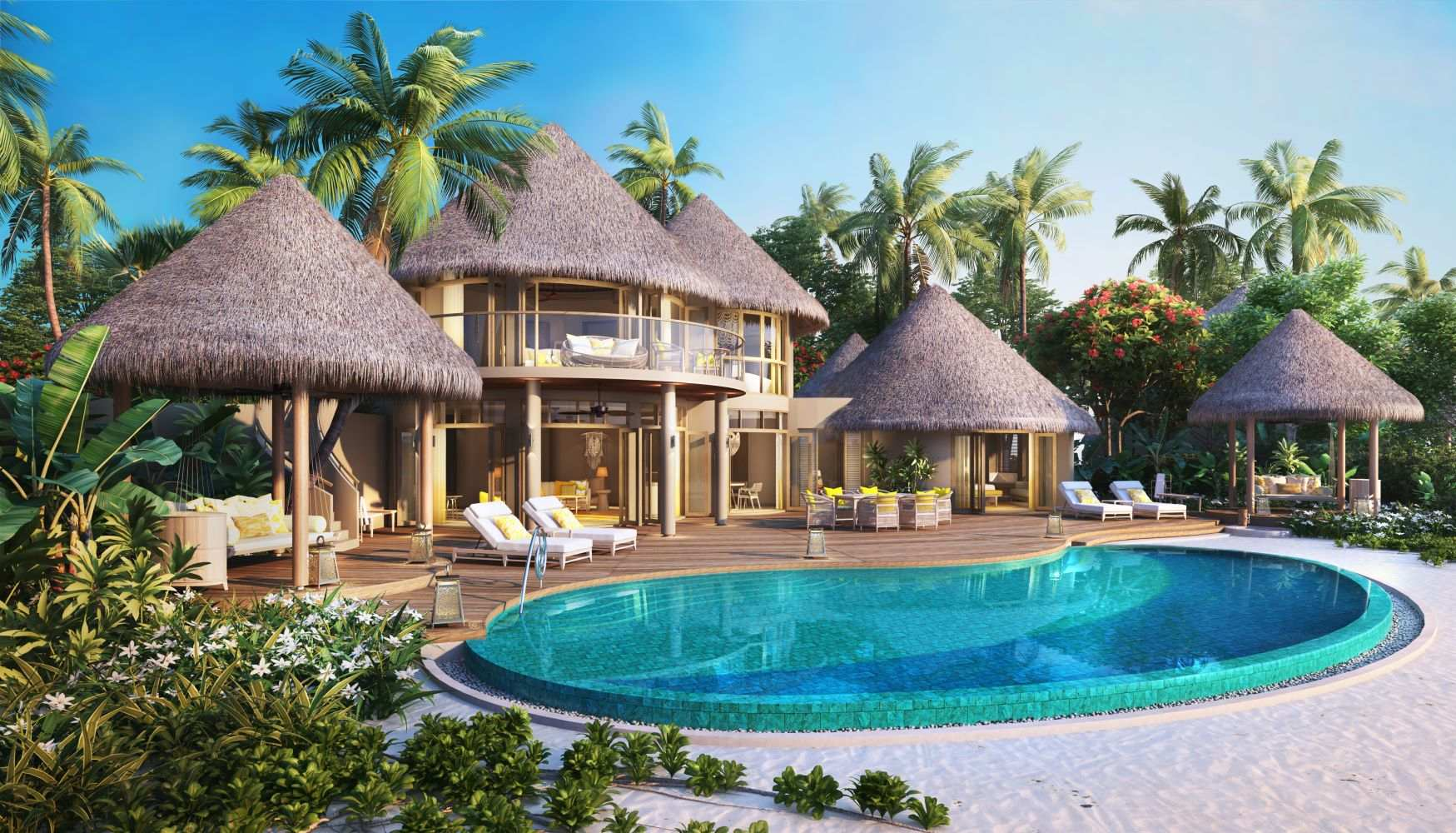 The Nautilus Maldives, Two Bedroom Beach Residence