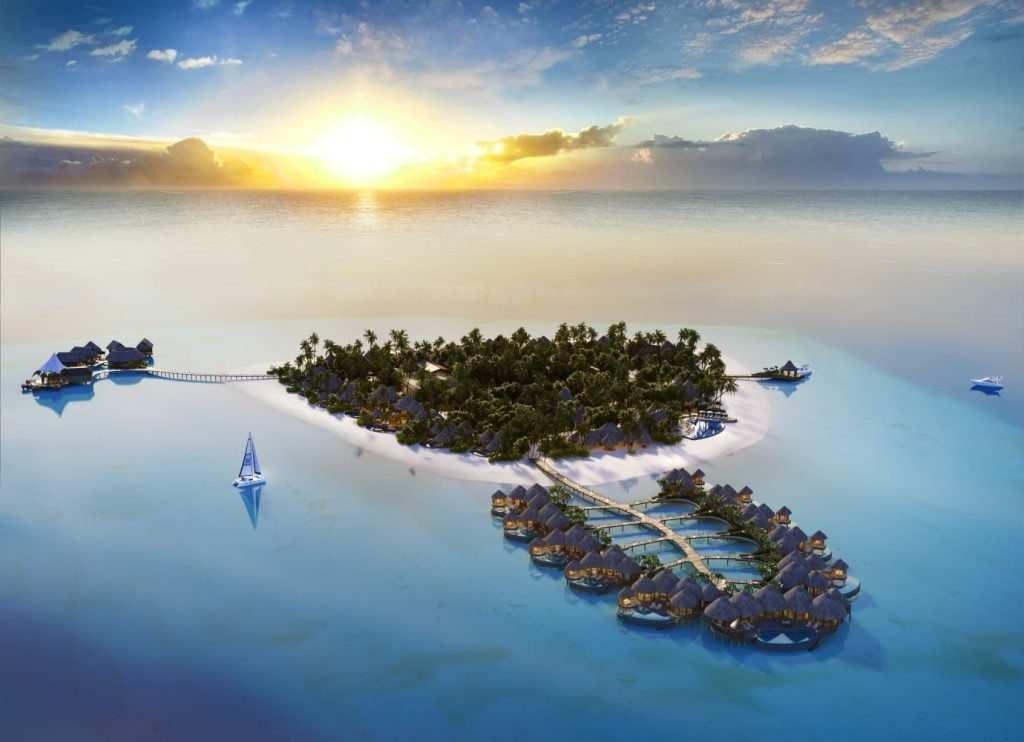 The Nautilus Maldives, фото острова