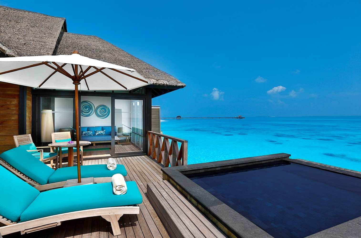 JA Manafaru, Sunrise Water Villa with private infinity pool