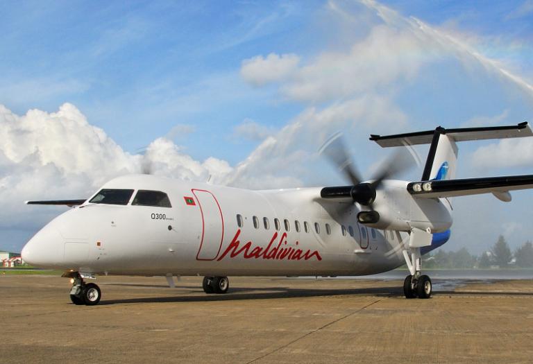 Трансферы на Мальдивах местными авиалиниями Maldivian