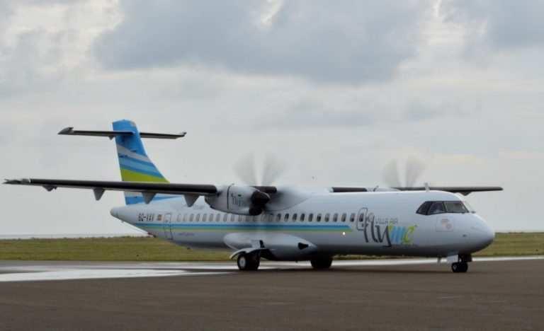 Трансферы на Мальдивах местными авиалиниями FlyMe_самролет_ATR-72-500