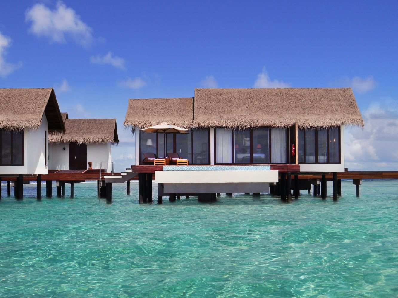 The Residence Maldives 5*, Water Pool Villa