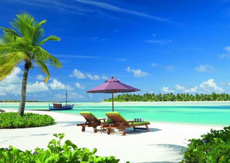 Когда на Мальдивах сезон для пляжного отдыха на берегу