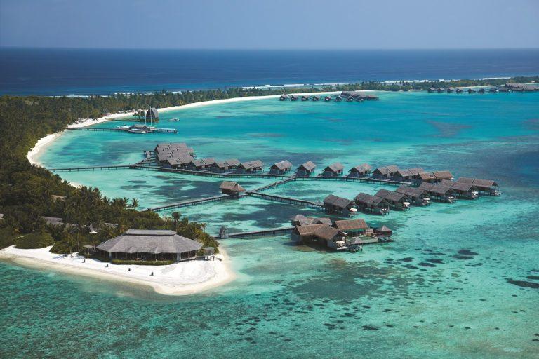 Мальдивы показать на карте Вид сверху
