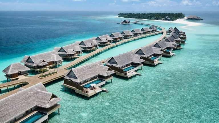 Какое море или океан омывает Мальдивы бунгало