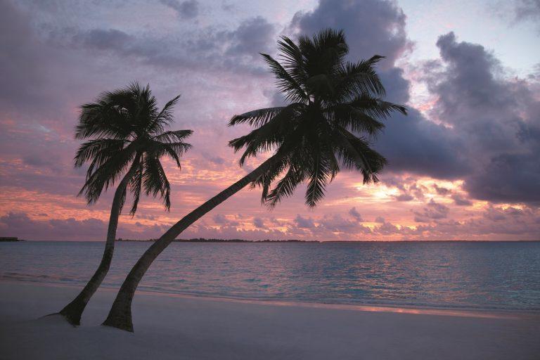 Мальдивы показать на карте закат