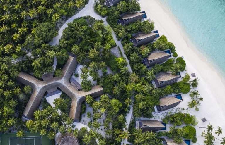 Мальдивы: температура по месяцам вид с верху